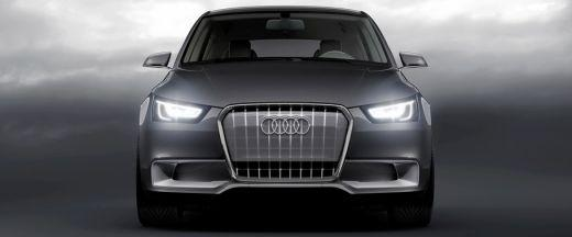 Audi A1 Front View Image