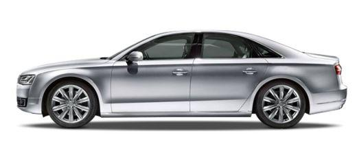 Audi A8 Side View (Left)  Image