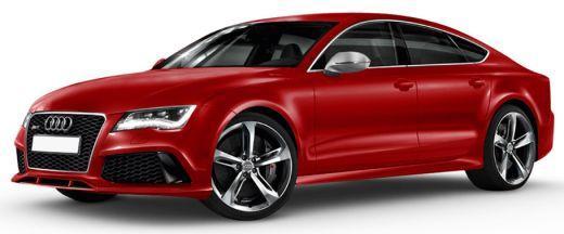 Audi RS7 Front Left Side Color