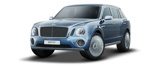 Bentley EXP 9F Front Left Side Image