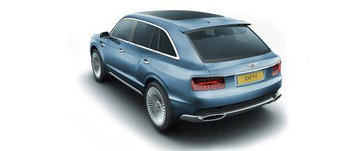 Bentley EXP 9F Rear Left View Image