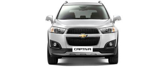 Chevrolet Captiva Front View Image