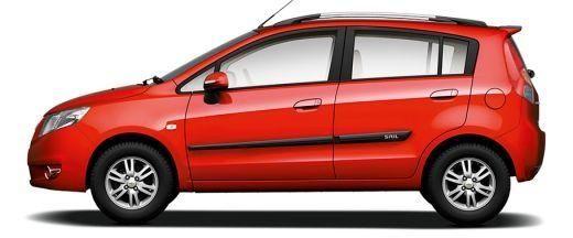 Chevrolet Sail Hatchback 2012-2013 Side View (Left)  Image