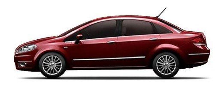Fiat Linea Classic Side View (Left)  Image