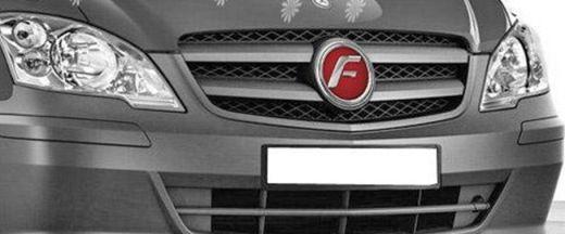 Force Viano Front Grill - Logo Image