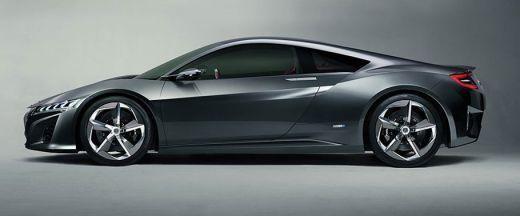 Honda NSX Side View (Left)  Image
