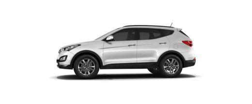 Hyundai Santa Fe Side View (Left)  Image