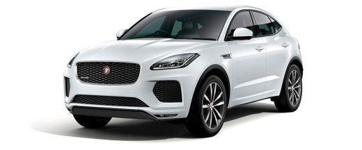Jaguar E Pace Front Left Side Image