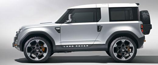 Land Rover DC100 Side View (Left)  Image