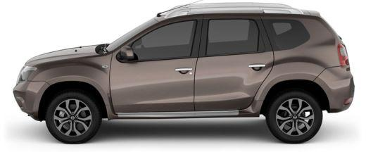 Nissan Terrano 2013-2017 Side View (Left)  Image