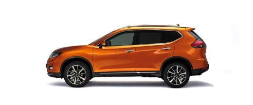 Nissan X-Trail Side View (Left)  Image