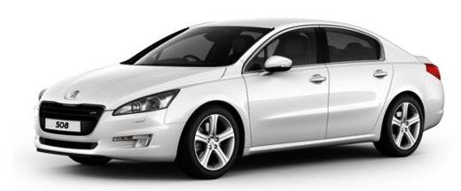 Peugeot 508 Front Left Side Image