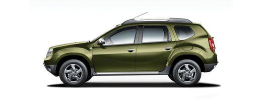 Renault Duster 2015-2016 Side View (Left)  Image