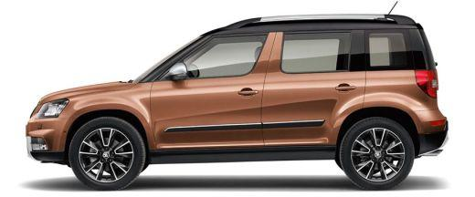 Skoda Yeti Side View (Left)  Image