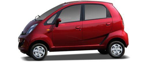 Tata Nano 2012-2015 Side View (Left)  Image
