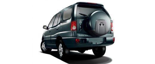 Tata New Safari Rear Left View Image