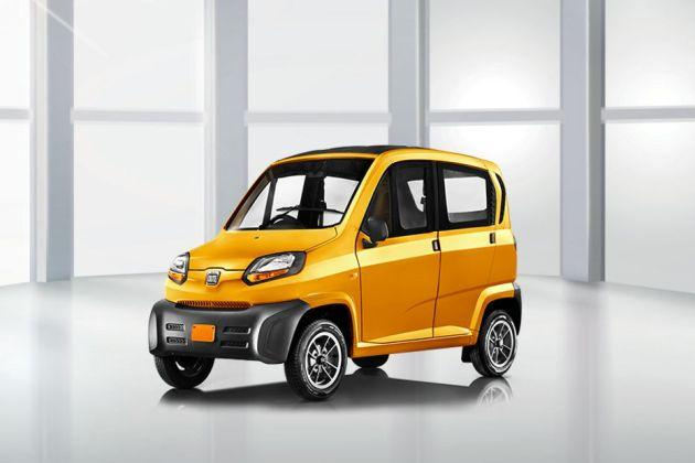 Bajaj Qute (RE60) Front Left Side Image