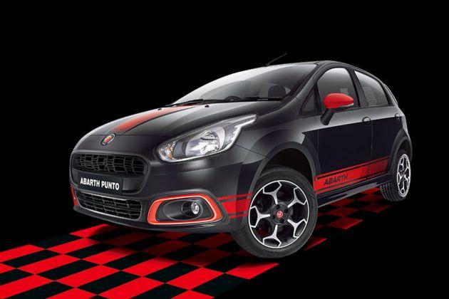 Fiat Abarth Punto Front Left Side Image