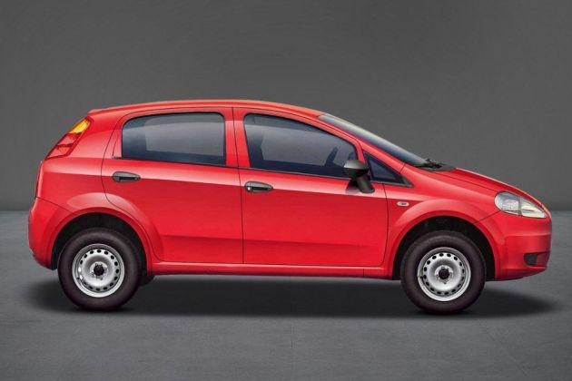 Fiat Punto Pure Side View (Left)  Image