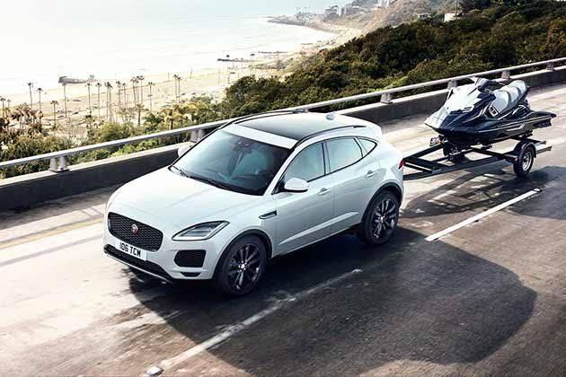 Jaguar E Pace Front Left Side Image