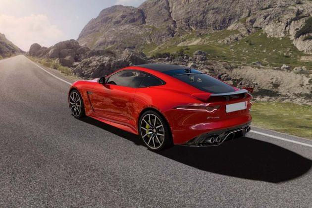 Jaguar F Type Rear Left View Image