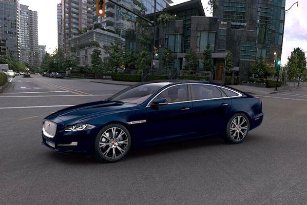Jaguar XJ Front Left Side Image