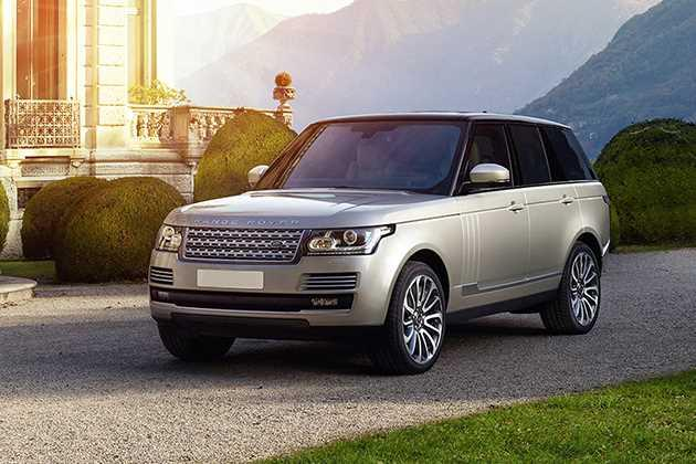 Land Rover Range Rover 2014-2017 Front Left Side Image