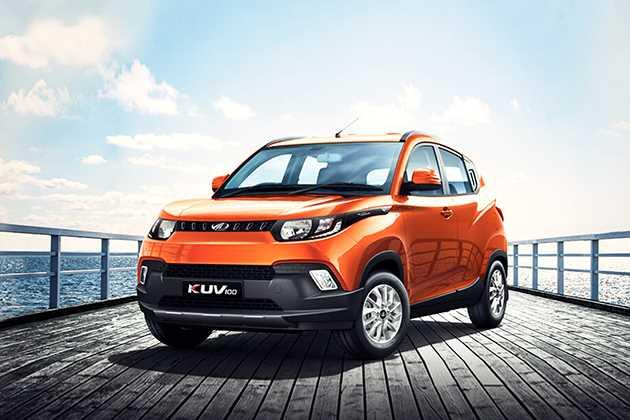 Mahindra KUV 100 2016-2017 Front Left Side Image