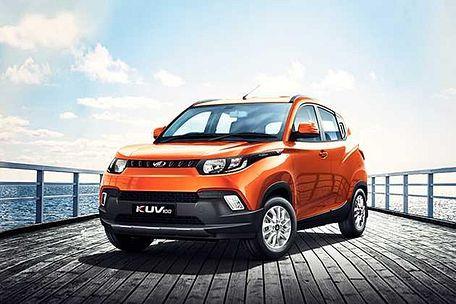 Mahindra KUV 100 2016-2017 Front Left Side Image