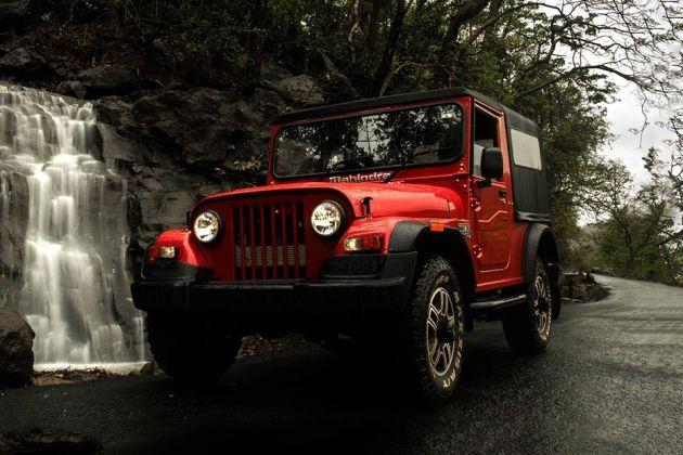 Mahindra Thar Front Left Side Image