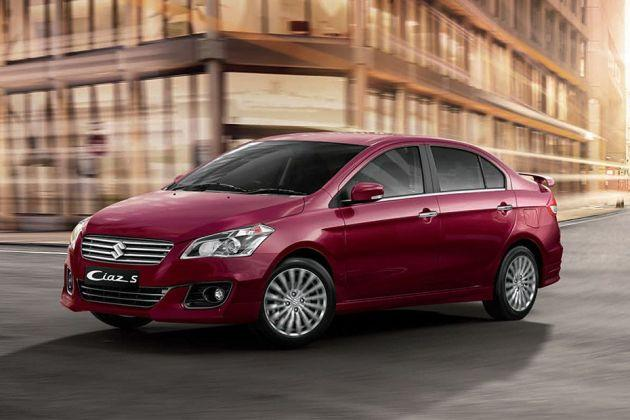 Maruti Ciaz S Front Left Side Image