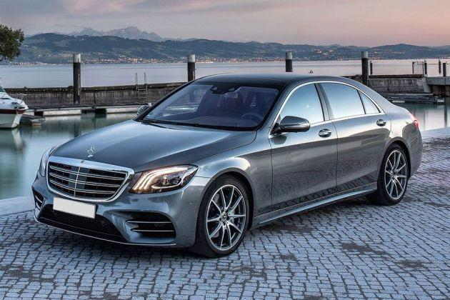 Mercedes-Benz S-Class Front Left Side Image