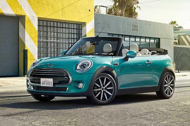 Mini Cooper Convertible 2014-2016 Front Left Side Image