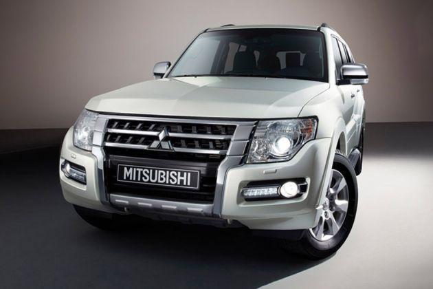 Mitsubishi Montero Front Left Side Image