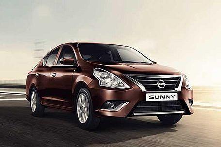 Nissan Sunny 2014-2016 Front Left Side Image