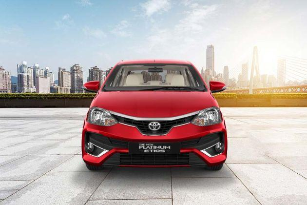 Toyota Etios 2014-2016 Front View Image