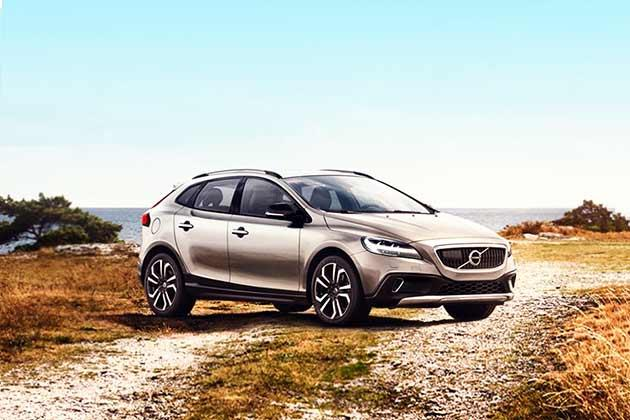 Volvo V40 Cross Country 2013-2016 Front Left Side Image