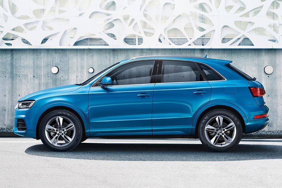 Audi Q3 Side View (Left) Color