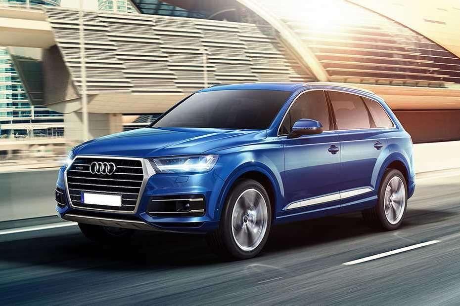Audi Q7 Front Left Side Color