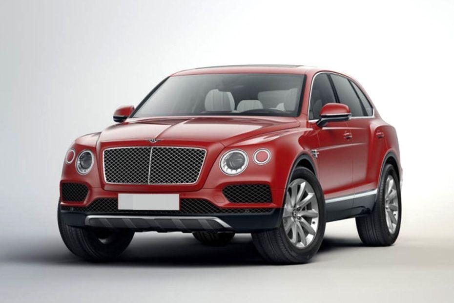 Bentley Bentayga Front Left Side Image