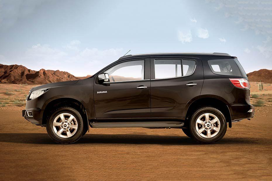 Chevrolet Trailblazer Side View (Left)  Image