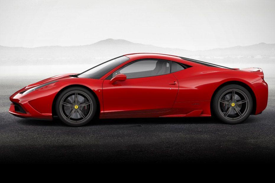 फेरारी 458 speciale side view (left)  image