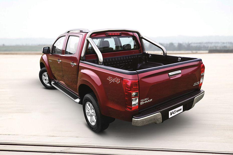 Isuzu D-Max V-Cross Rear Left View Color