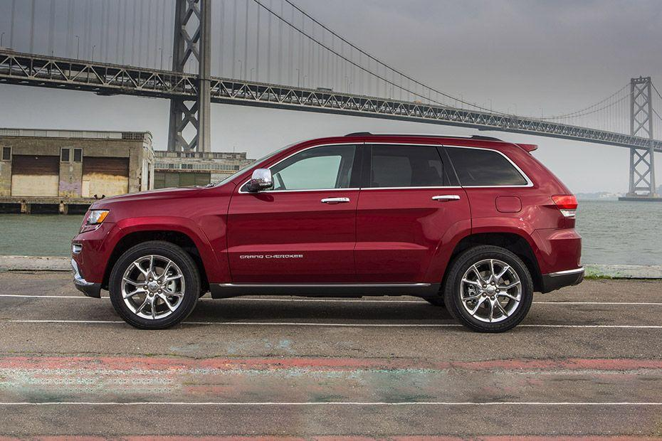 Jeep Cherokee Side View (Left)  Image