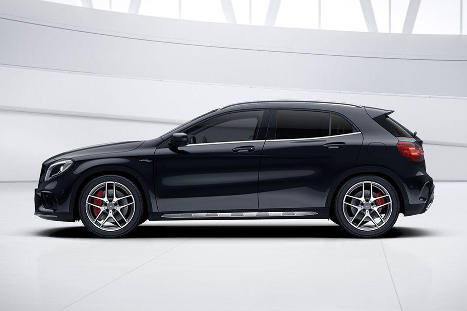 मर्सिडीज जीएलए 45 amg side view (left)  image