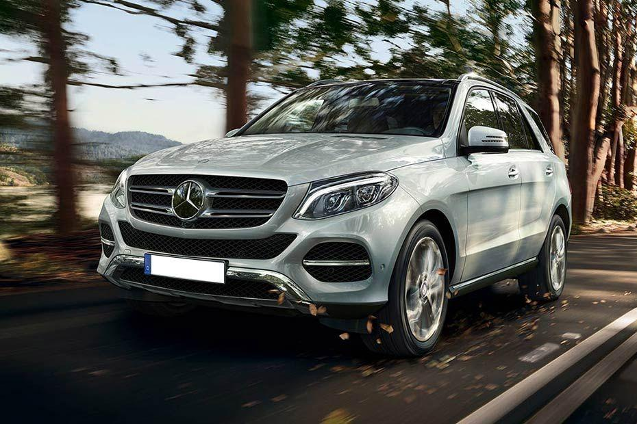 Mercedes-Benz GLE Class Front Left Side Color