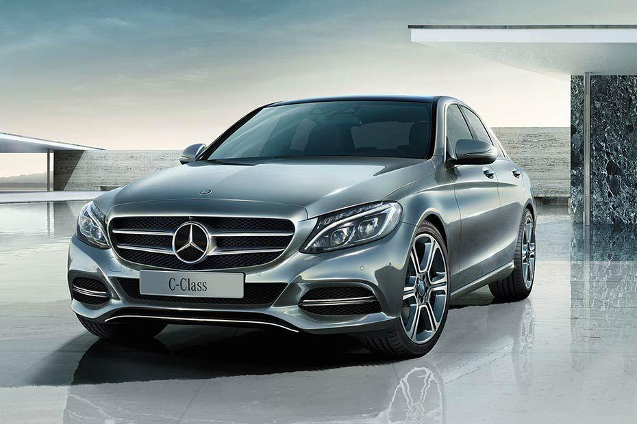 Mercedes Benz New C Class Front Left Side Color