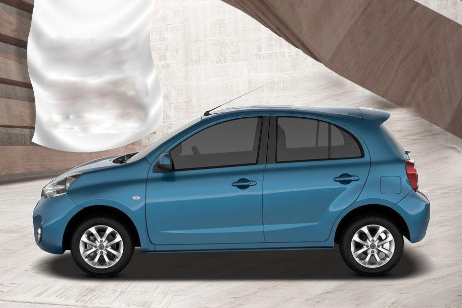 Nissan Micra 2012-2017 Side View (Left)  Image