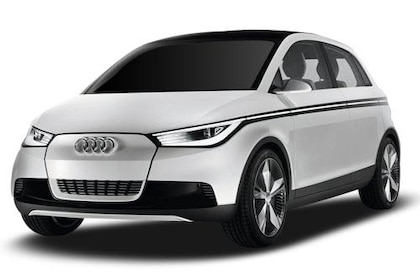 Audi A2 Front Left Side Image