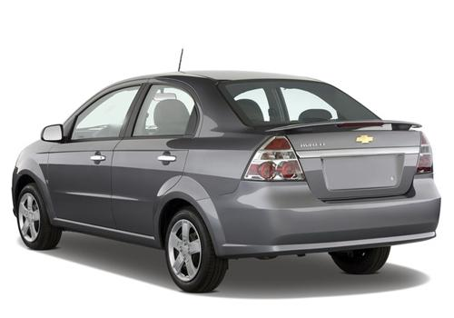Chevrolet Aveo Rear Left View Image
